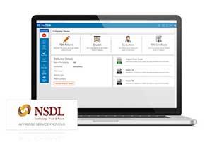 HostBooks e-TDS Software