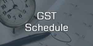 GST-Schedule