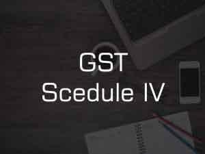 GST Schedule-4