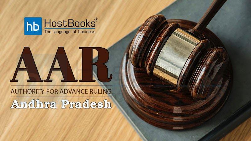 Andhra Pradesh AAR under GST