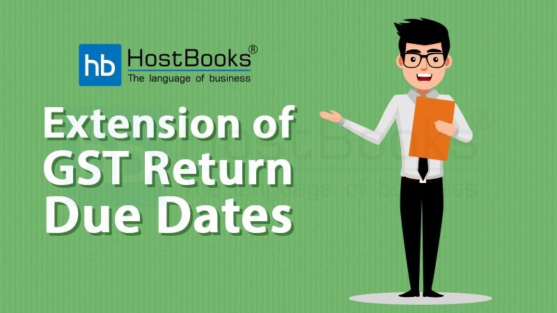 GST Due Dates
