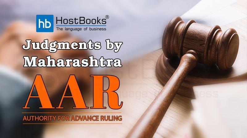 GST AAR Maharashtra